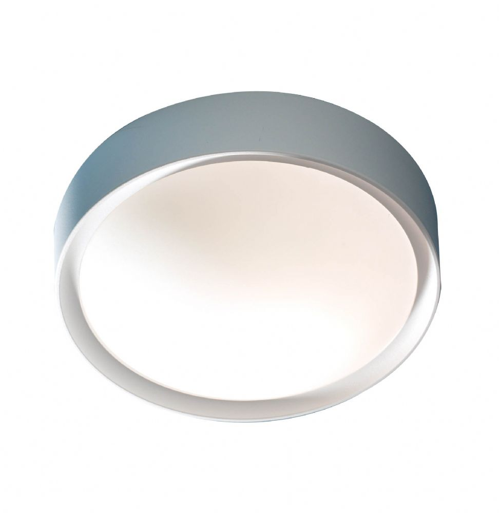 0.1) Beta Plastic IP44 Flush Ceiling Light (Class 2 Double Insulated) BXBET52 + 197416-17